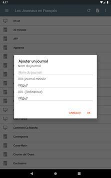 Les Journaux en Français screenshot 19