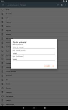 Les Journaux en Français screenshot 12
