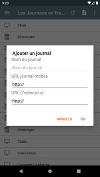 Les Journaux en Français screenshot 4