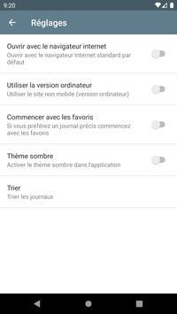 Les Journaux en Français screenshot 5