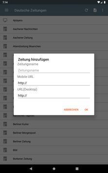 Deutsche Zeitungen screenshot 20