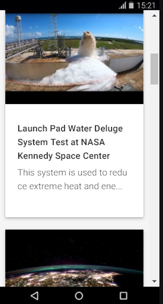 NASA Live: Official Stream of NASA TV for Android - APK ...