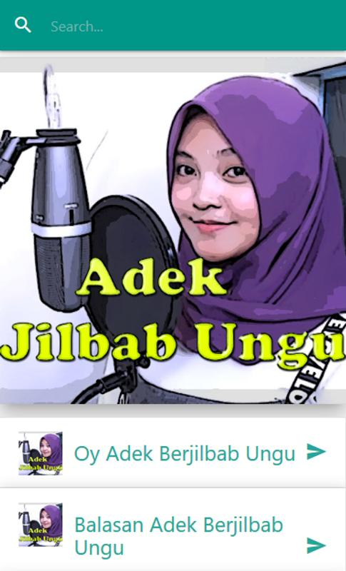 Lagu Adek Jilbab Ungu For Android Apk Download