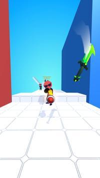 Sword Play! Ninja Slice Runner 3D screenshot 2
