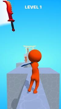 Sword Play! Ninja Slice Runner 3D screenshot 4