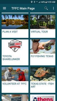 TX Freshwater Fisheries Center screenshot 1
