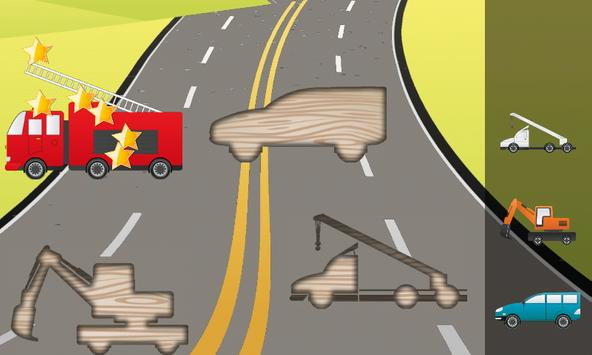Puzzle for Toddlers Cars Truck screenshot 2