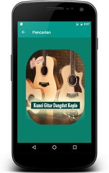 Lirik dan Kunci Gitar Dangdut Koplo screenshot 1