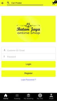 Batam Jaya Onlineshop screenshot 1