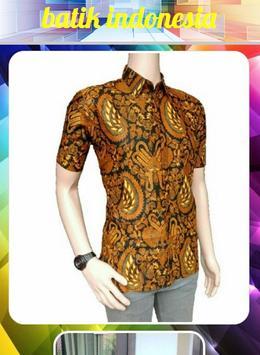 Indonesian batik poster