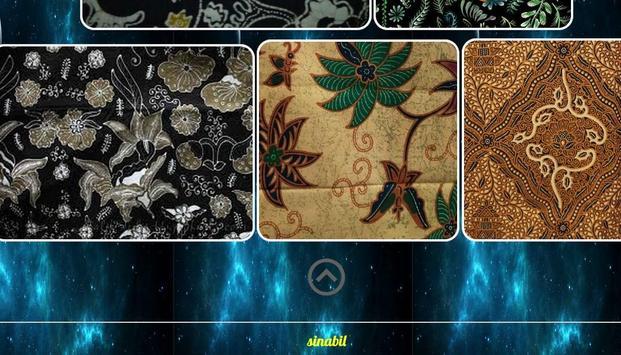 desain motif batik poster