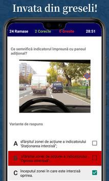 Chestionare Auto capture d'écran 4