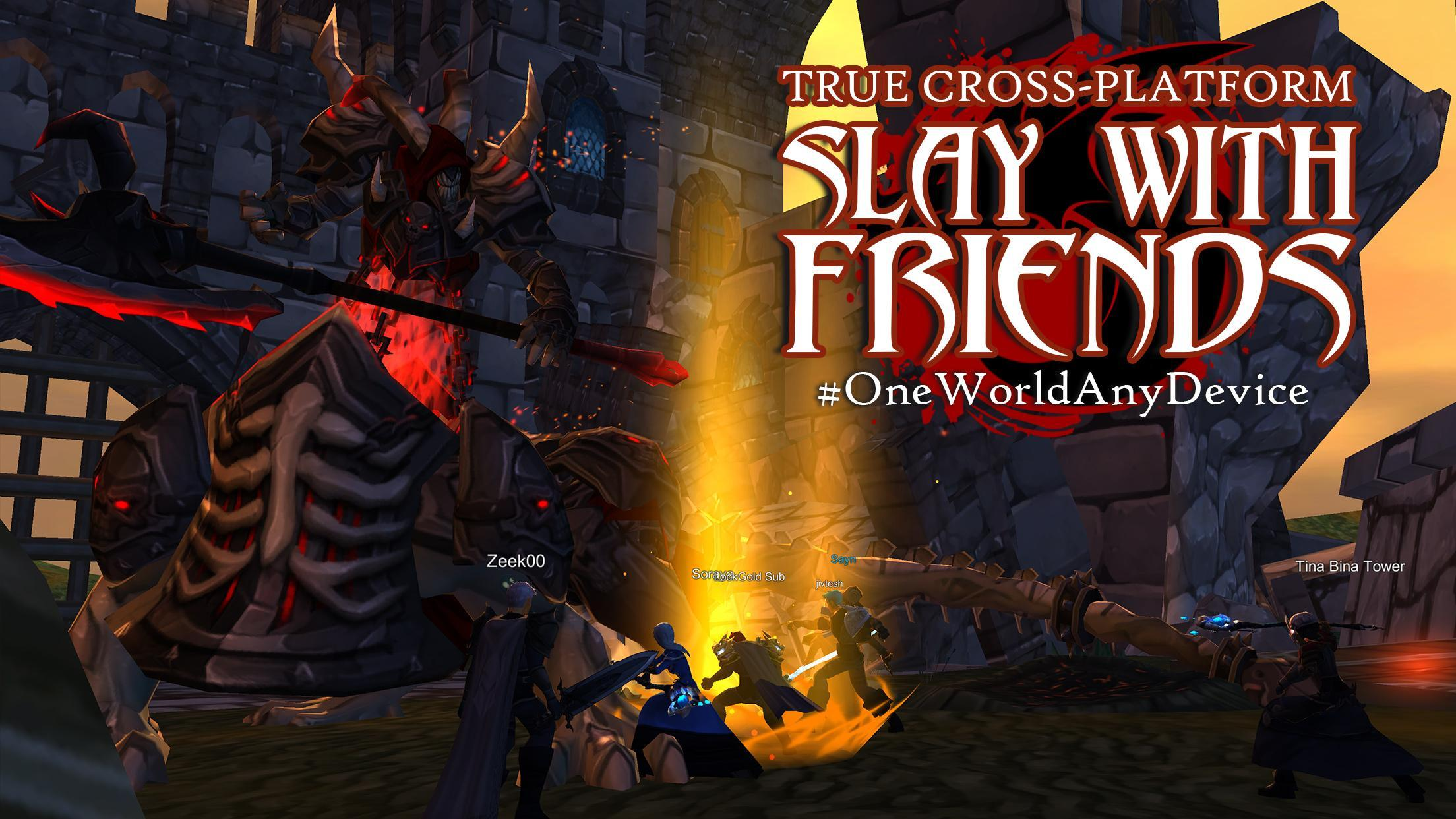 AdventureQuest 3D MMO RPG cho Android - Tải về APK