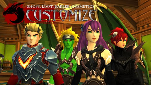 AdventureQuest 3D MMO स्क्रीनशॉट 1