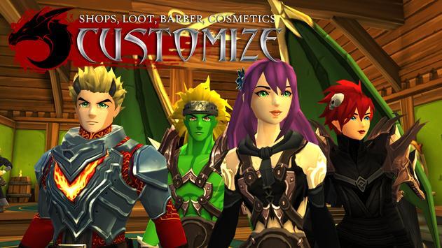 AdventureQuest 3D MMO RPG スクリーンショット 15
