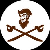 Pirates Sea Battle: Battleship game online icon