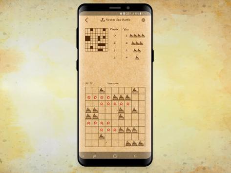 Pirates Sea Battle: Battleship game online screenshot 3