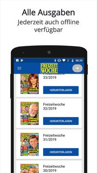 FREIZEITWOCHE ePaper —Promis, Rezepte & Gesundheit screenshot 1