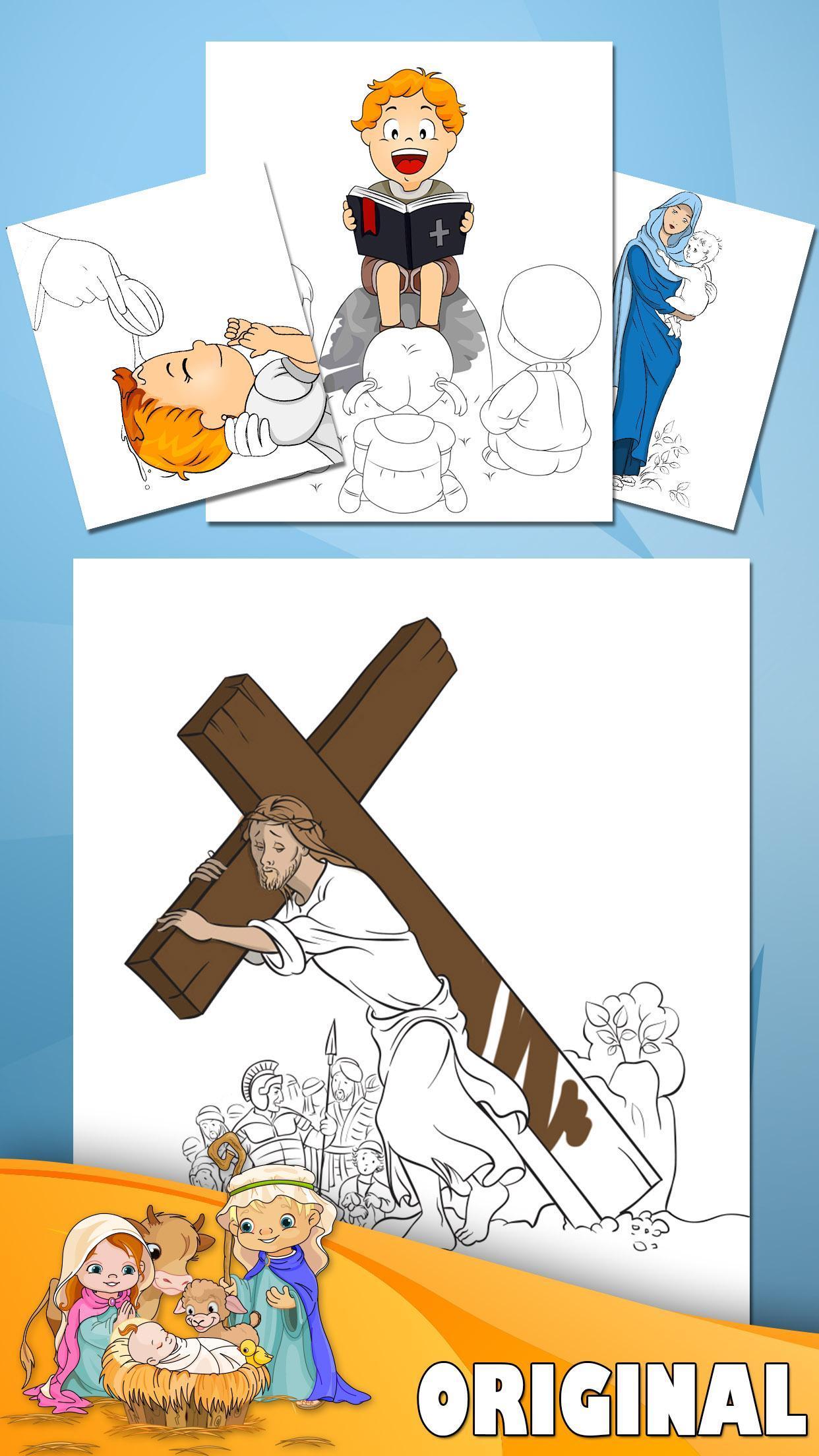 Mewarnai Buku Alkitab For Android APK Download