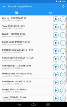 Pengubah suara dengan kesan screenshot 19