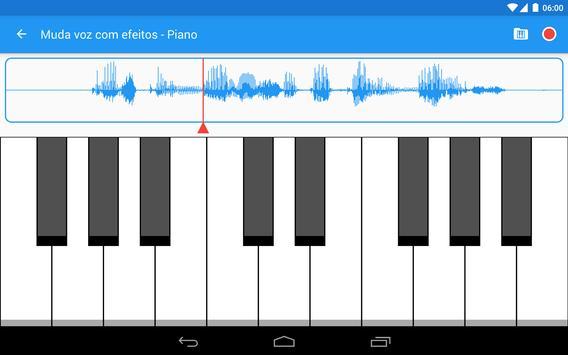Muda voz com efeitos imagem de tela 18