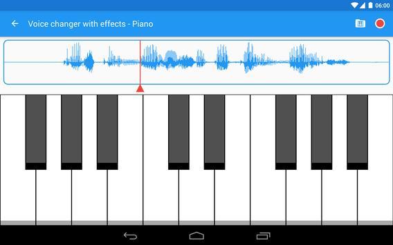 Voice changer with effects ảnh chụp màn hình 12