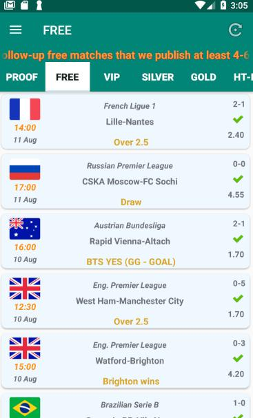 New betting tips app list of best sports betting sites