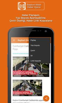 Bayburt Mobil Haber screenshot 7