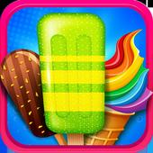 Rainbow Ice Cream Cone Maker - Summer Fun icon