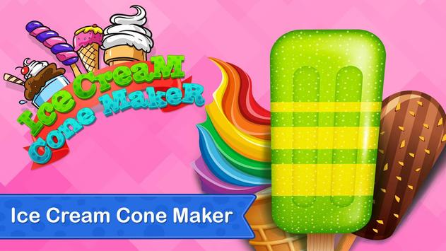 Rainbow Ice Cream Cone Maker - Summer Fun screenshot 13