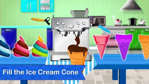 Rainbow Ice Cream Cone Maker - Summer Fun screenshot 14