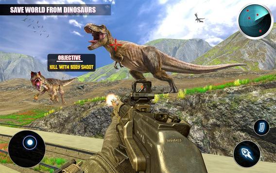 Dino Hunting تصوير الشاشة 1