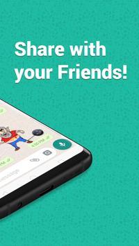 New Year 2019 Stickers for WhatsApp: WAStickerApps screenshot 6