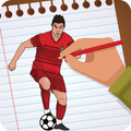 Draw and Pixel Color Famous Football Players