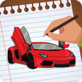 How to Draw : Sports Cars and Soccer Players