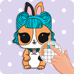 PETS Coloring : Yes.Pixel Art by Number APK