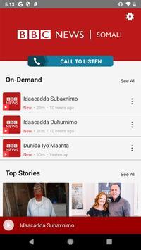 BBC News Somali ảnh chụp màn hình 1