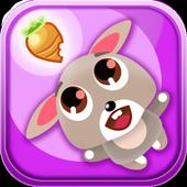 Rabbit's carrot icon