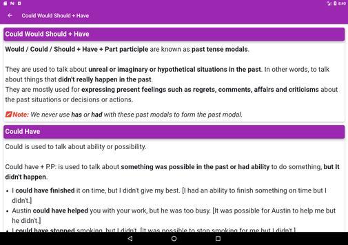 English Grammar App 스크린샷 15