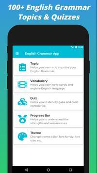 English Grammar App 포스터