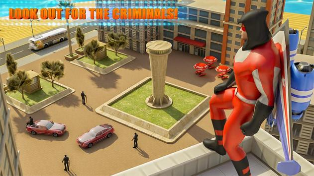 Flying Jetpack Crime City Hero Simulator screenshot 1