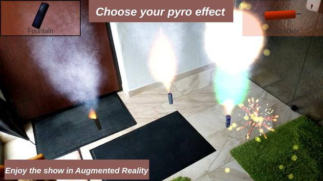 Indoor Fireworks in Augmented Reality (ARCore) for Android - APK