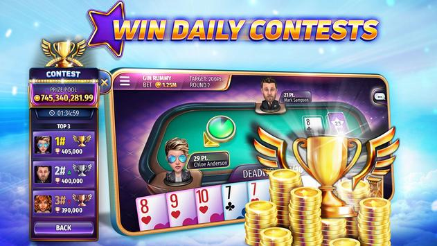 Gin Rummy Stars - Best Card Game of Rummy online! screenshot 3