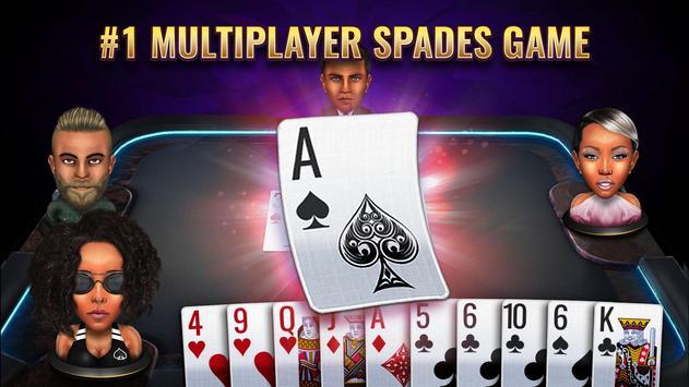 Spades Royale - Card Game Cartaz