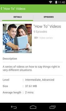 LearnEnglish Audio & Video screenshot 1