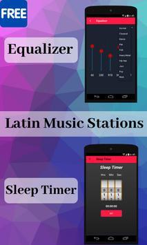 Latin Music Stations Musica Latina screenshot 1