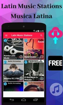 Latin Music Stations Musica Latina screenshot 2