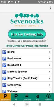 Sevenoaks Parking Spaces poster