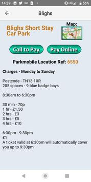 Sevenoaks Parking Spaces screenshot 1