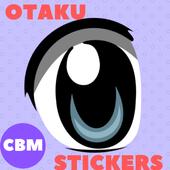 Otaku Anime Stickers para WhatsApp - WAStickerApps icon